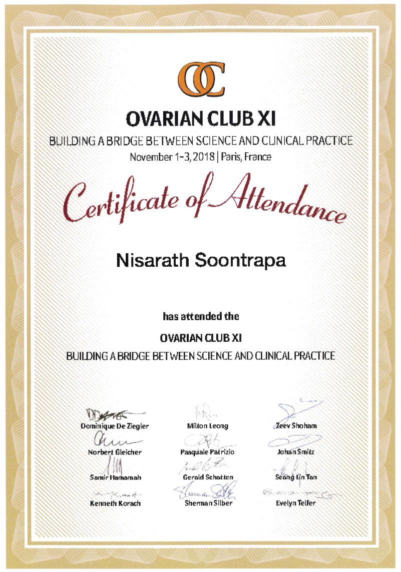 NISARATH SOONTRAPA 博士